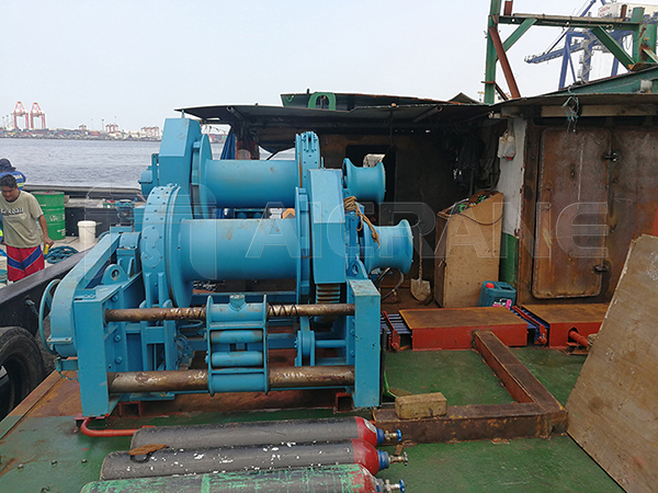 Double Drum Hydraulic Mooring Winch For Sale