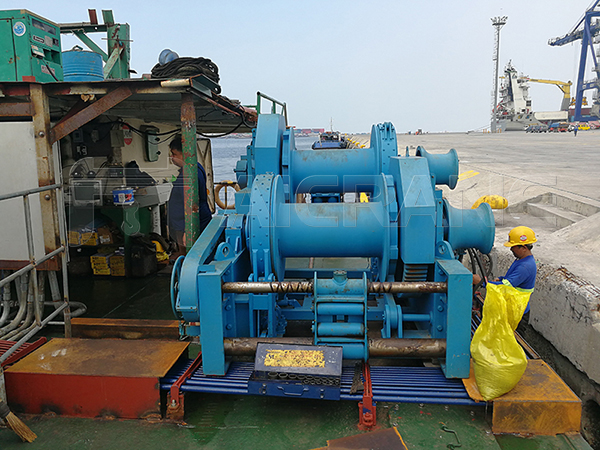 12 Ton Waterfall Hydraulic Positioning Winch For Sale