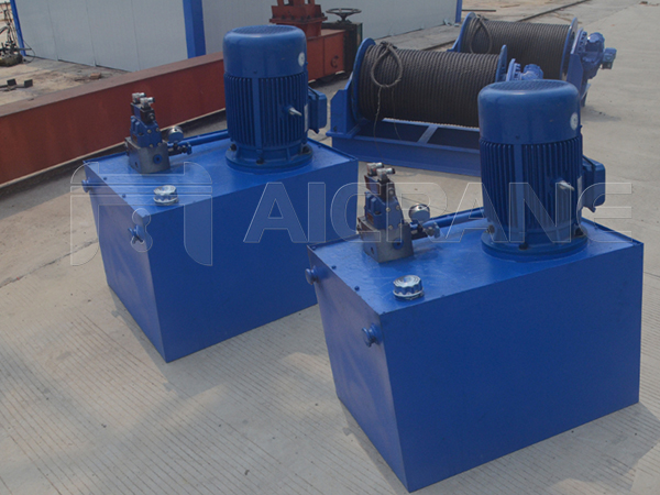 Hydraulic Pump Station For Winch