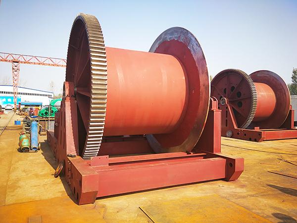 Hydraulic Winch For Construction