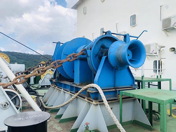 Hydraulic Windlass Mooring Winch For Sale