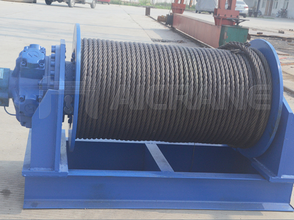 Hydraulic Wire Rope Winch Manufacturer
