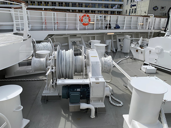Single Drum Electric Mooring Winch For Sale