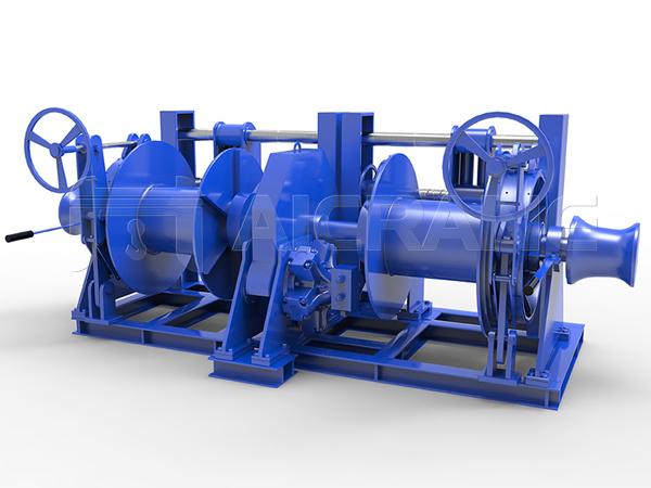 Double Drum Hydraulic Winch Manufacturer