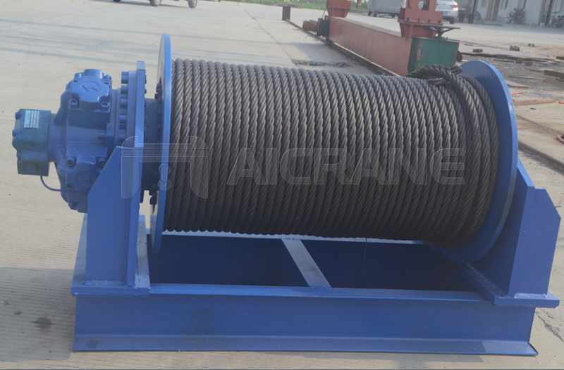 Industrial Hydraulic Winch Manufacturer