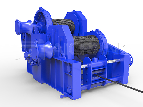 Waterfall Type Double Drum Winch Supplier