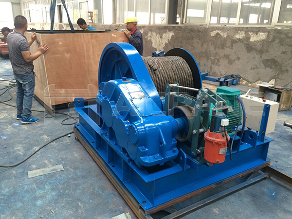 12 Ton Winch to Indonesia