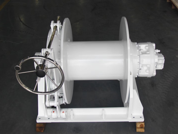 Hydraulic Boat Drum Anchor Winch Design
