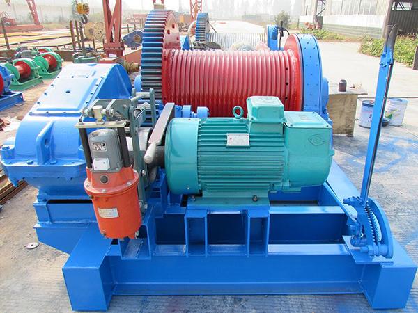 AQ-JKL Electric Piling Winch Manufacturer