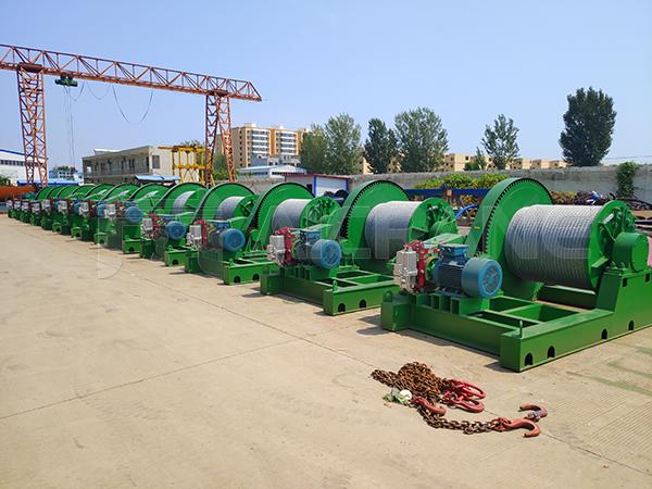 30 Ton Electric Winch to Turkey