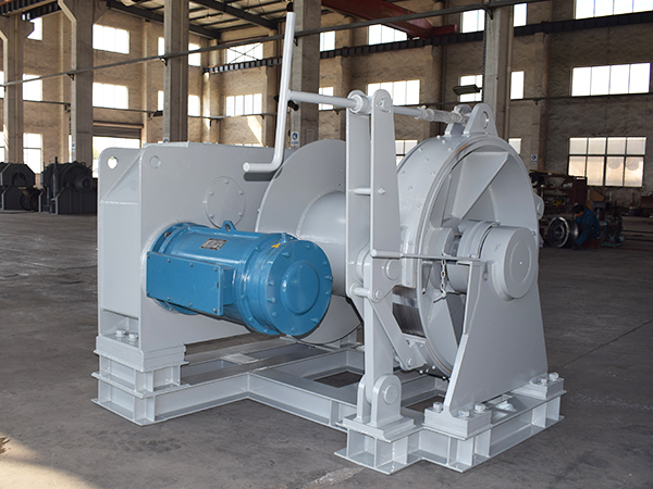 Electric Anchor Rope Winch For Boat