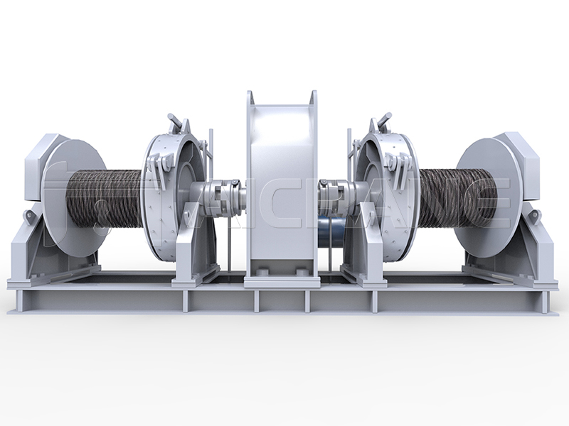 Electric Double Drum Mooring Winch Manufacturer
