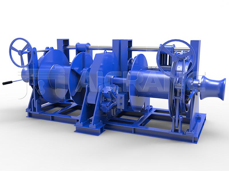 Hydraulic Double Drum Mooring Winch Price