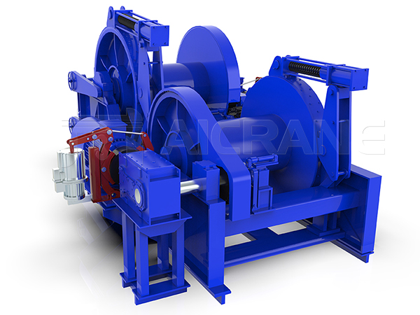 Waterfall Type Double Drum Winch Manufacturer