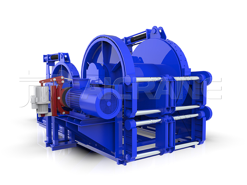 Waterfall Type Electric Mooring Winch For Sale