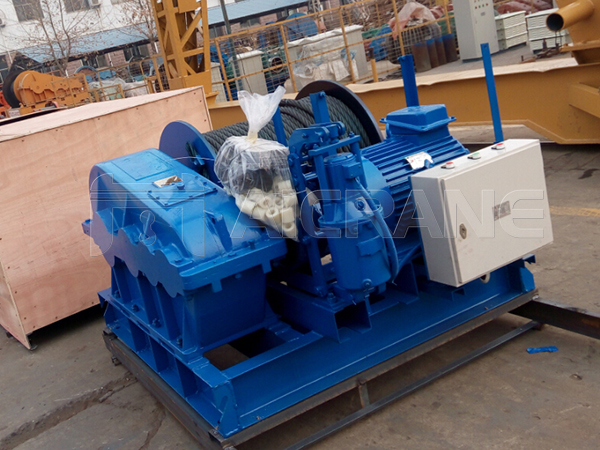 Electric Winch to UAE