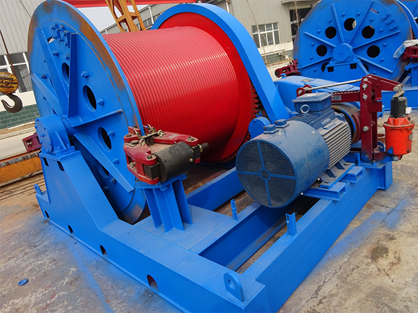 Electric Winch With Drum Disc Brake