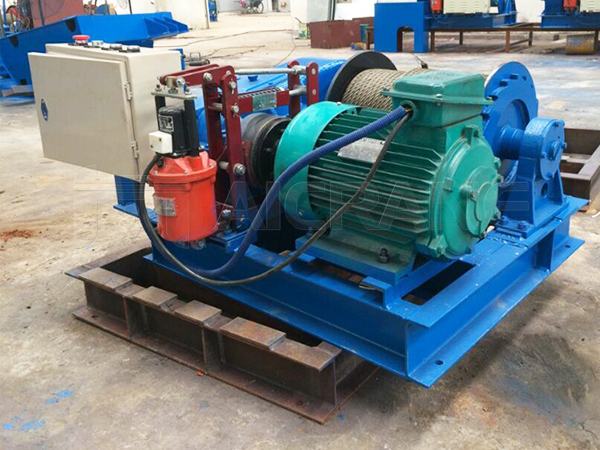 Electric Winch 3 Ton to Indonesia