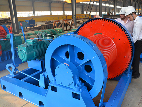 AQ-JKL Electric Winch 10 Ton For Sale