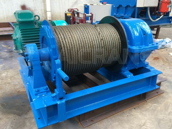 3 Ton Electric Winch to Indonesia