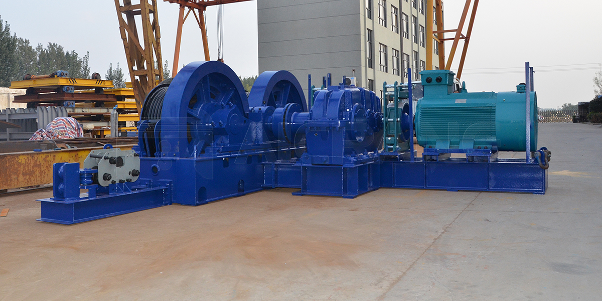 AQ-JMM Electric Winch Supplier in Philippines