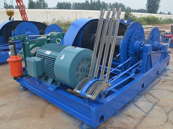 AQ-JKL Double Drum 10T Electric Winch For Sale