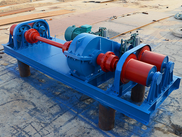 Four Drum Electric Winch For Lifting